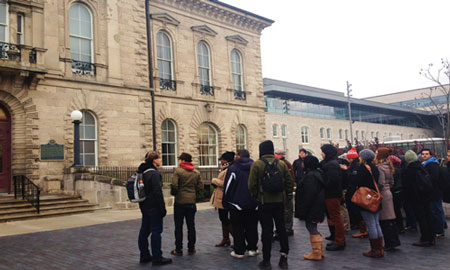 Downtown Guelph Student Tour