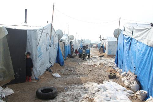 Talyani Refugee Camp in Lebanon