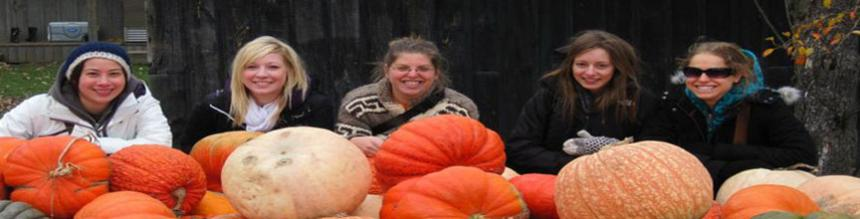 RPD students in pumpkin patch