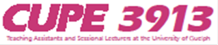 CUPE 3913 Logo