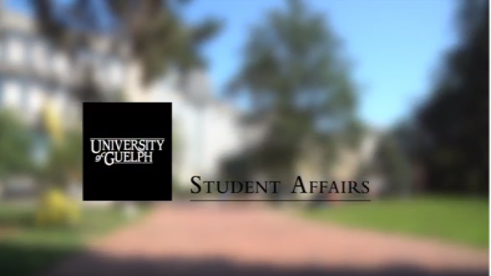 Screen shot of welcome video
