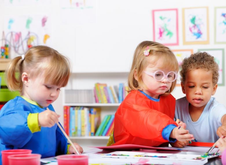 3 children playing